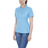 Craft Classic Polo Pique Shirt Women aqua